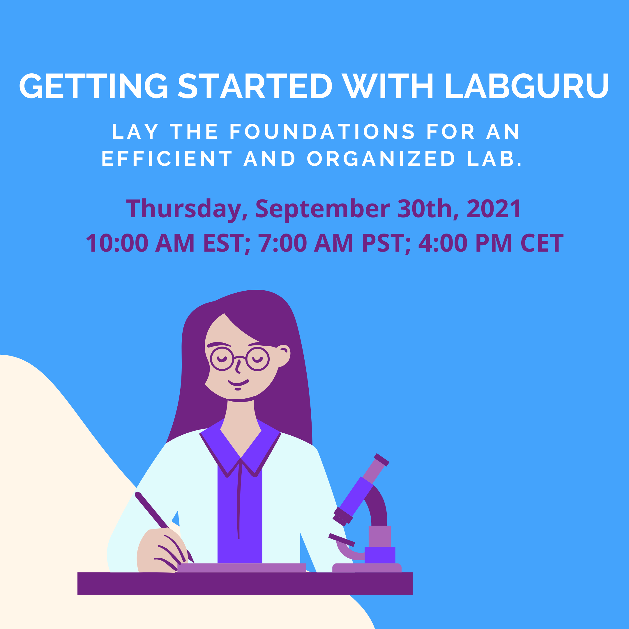 Getting started with labguru cover
