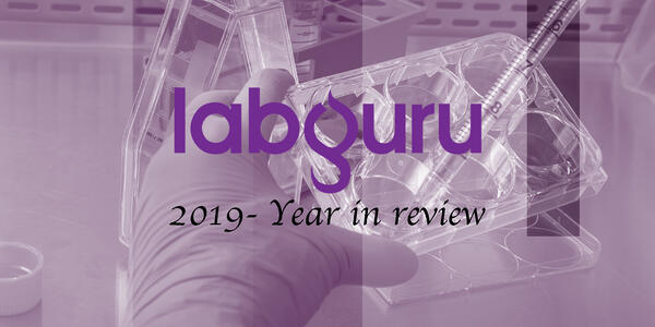 Labguru year in review 2019
