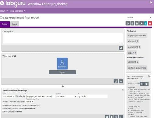 Workflow Editor