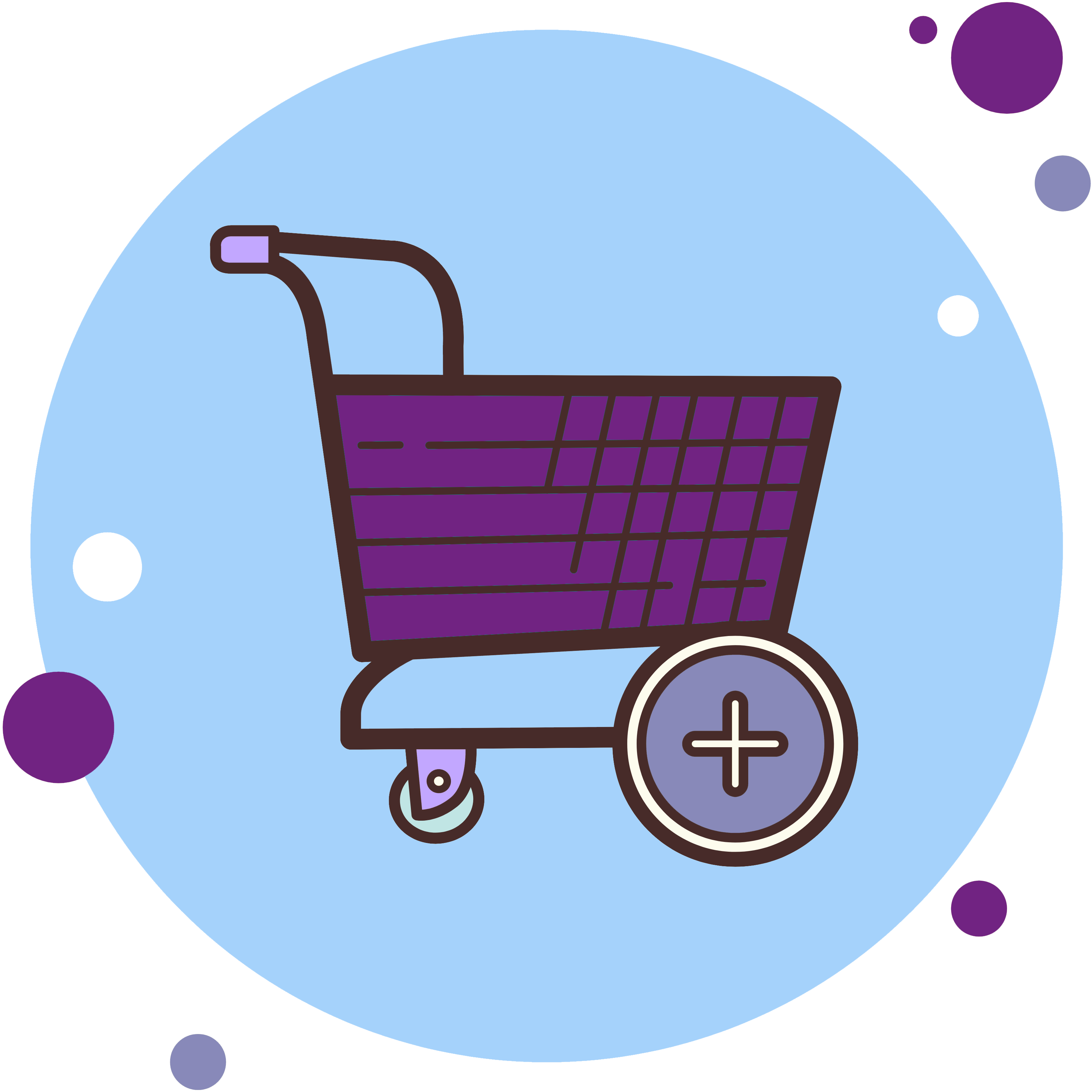 inventory webpage - shopping cart icon